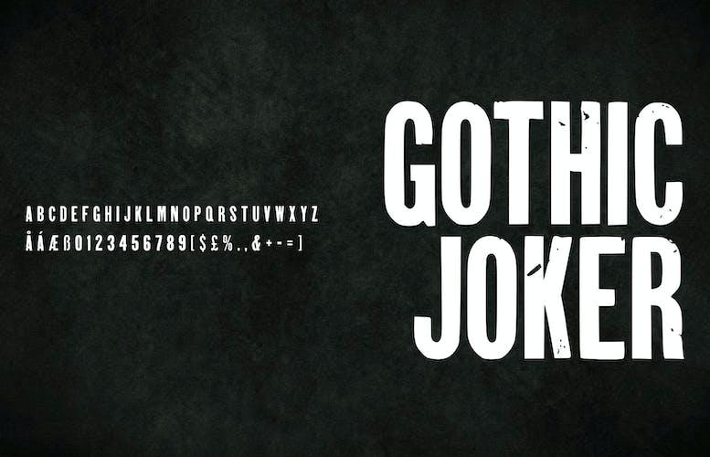 Thumbnail for Gothic Joker
