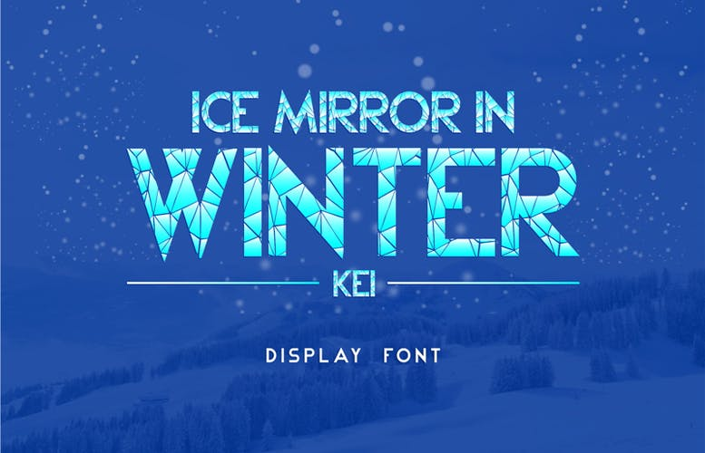 Thumbnail for Ice Mirror in Winter Kei