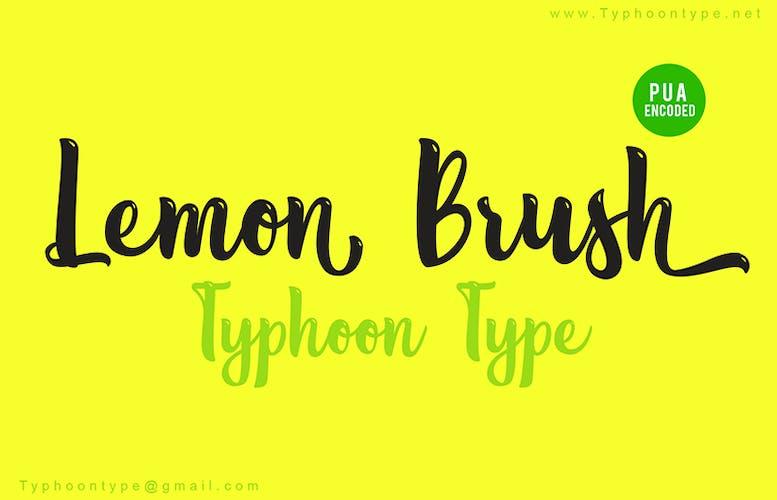 Thumbnail for Lemon Brush