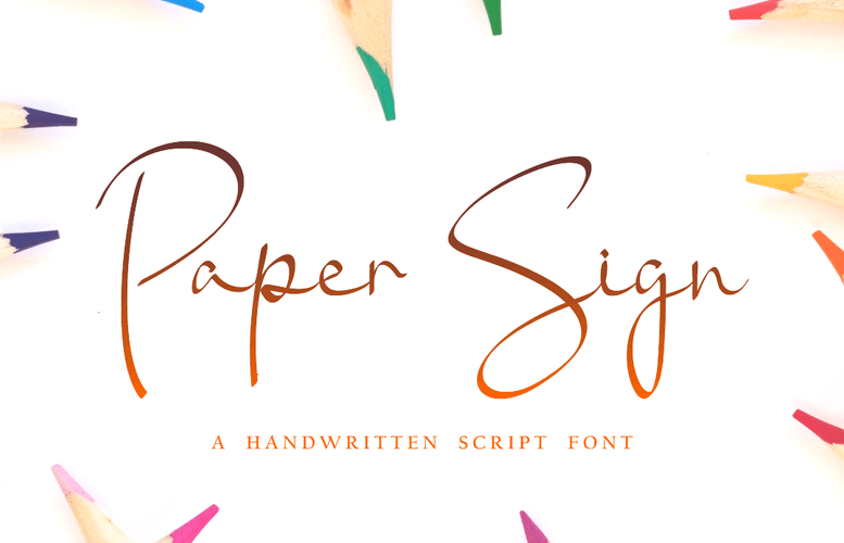 Thumbnail for Paper Sign